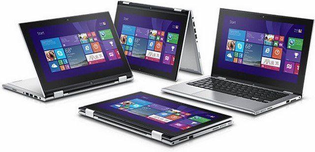 Bán Laptop Dell Inspiron 3158 Giá Rẻ- Core i3 - Thế hệ 6 - ( Cảm ứng/Siêu Mỏng/Gập 360 )