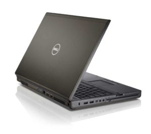 Dell Precision M4600 mobile workstation featured on white background.
