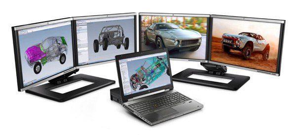HP EliteBook 8760w - Core i7 - Thế hệ 2 - 8 CPU
