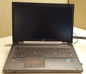 HP EliteBook 8770w (Intel Core i5/ 2GB RAM/ 250GB HDD/ VGA NVIDIA Quadro 3000M/ 17.3 inch/ Windows XP/7/8/10) (7796)