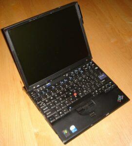 Lenovo ThinkPad X60 (Intel Core Duo L2400 1.66GHz/ 1GB RAM/ 80GB HDD/ VGA Intel GMA 950/ 12.1 inch/ Windows XP/7/8/10) (6954)
