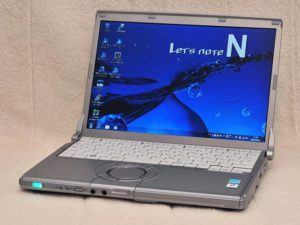 Panasonic N8 (Intel Core Duo 2/ 2GB RAM/ 160GB HDD/ 12 inch/ Windows XP/7/8/10) (8654)