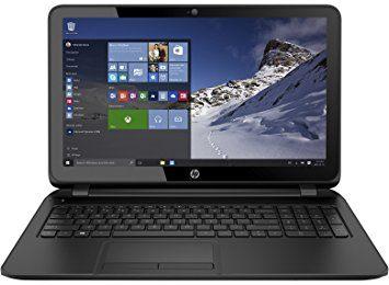 HP 15-af131dx P1A95UA 15.6 Laptop (AMD Quad-Core A6-5200 APU 2.0GHz, 4GB DDR3, 500GB, Windows 10 Home(64-bit)), Black (4)