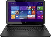 HP 15-af131dx P1A95UA 15.6 Laptop (AMD Quad-Core A6-5200 APU 2.0GHz, 4GB DDR3, 500GB, Windows 10 Home(64-bit)), Black (6)